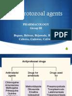 Antiprotozoal
