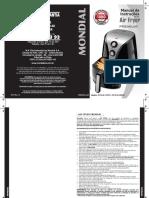 Manual Air Fryer AF 01 Mondial.pdf