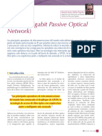 QUE ES... GPON Gigabit Passive Optical N