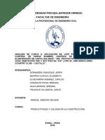 7. Informe Final