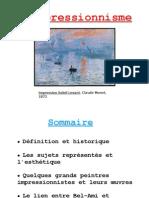 diaporama francais impressionnisme