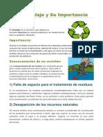 El Reciclaje y Su Importancia.docx