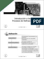 1-Introduccion Procesos de Refinacion