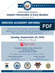 Service Academy Information Day 2018