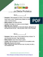 Dieta PROTEICA 1 - Dieta Guia