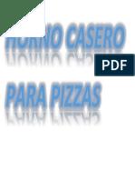 Horno Casero Para Pizzas