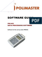 Software Guide PM1405 Eng