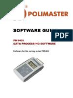 Software Guide PM1405 E