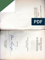 Burocracia, Burocratização e Desburocratização - S. Eisenstadt