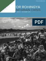 Jrp for Rohingya Humanitarian Crisis - For Distribution