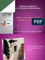 mitos y realidades de la violencia familiar