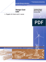 NREL - Wind Turbine Design Costs and Scale Model
