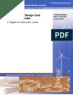 NREL - Wind Turbine Design Costs and Scale Model