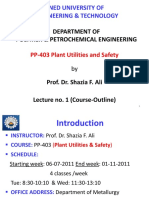 Lecture1 PU&S Course Outline