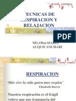 Fisiologia de La Respiración Y RELAJACION