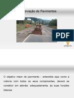 Conservação de Pavimentos Flexíveis