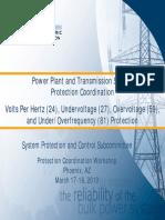 Phoenix NERC Generator Protection Coordination