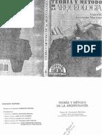 Teoria y Metodo de La Arqueologia.