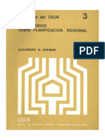 Cuaderno 3. Dos ensayos sobre planificación regional