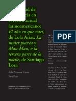MORENA, Julia. Rojo, Sara. Visibilidad de la violencia en el teatro actual latinoamericano