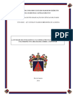 A ATIVIDADE DE INTELIGÊNCIA NAS OPERAÇÕES DAS NAÇÕES UNIDAS – UMA PERSPECTIVA BRASILEIRA SOBRE A MINUSTAH