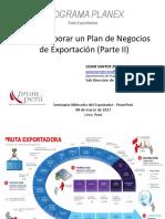 plan de exportacion peru