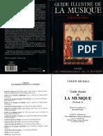 Guide Illustre de La Musique Vol 1 Ulrich Michels Fayard