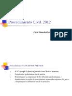 Derecho Procesal, Procedimiento Civil. FPR.