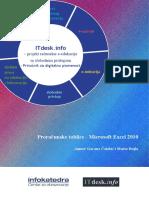 Prirucnik Proracunske Tablice Microsoft Excel 2010