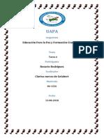 Tarea 6 de Educacion Para La Paz y Formacion Ciudadana