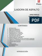 RECICLADORA ASFALTO