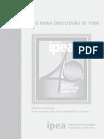 Texto para Discurssão Especial_1000 - IPEA - 2004.pdf