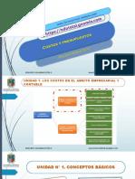 Costos y Presupuesto Udistrital Admon Deportiva Unidad 1 Sección 2