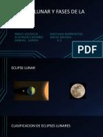 Eclipse Lunar y Fases de La Luna