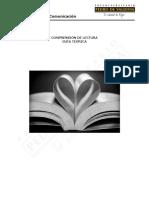LE21 Comprensión de Lectura. Guía Teórica