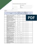 Formato Directiva 002-2016-Sunafil- Lista de Verificacion de Materias de Seguridad y Salud en El Trabajo