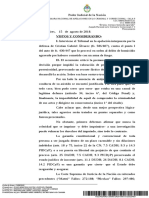 Procesamiento de Pity Álvarez