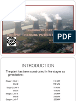 report on thermal power plant,Mechantronics Engineering