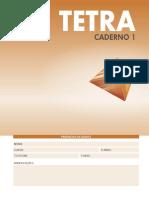 Caderno Tetra 1 - PV
