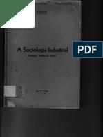 Guerreiro Ramos - A Sociologia Industrial
