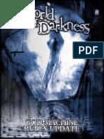 World of Darkness God-Machine Rules Update