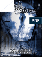 World of Darkness God-Machine Rules Update