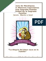 Ritual Solemnidad Sagrada Familia