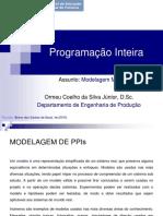 Aula 2 - Introdução à Programação Inteira_EaD_CEDERJ
