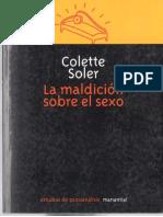 La maldición sobre el sexo - Colette Soler.pdf
