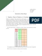terms papper calcules