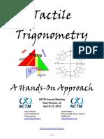 Tactile Trigonometry Handout