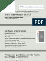 Apresentação Luiz Paulo Moraes - Carta de Serviços ao Cidadão