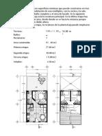 Planos de Casas Prototipo Dibujo