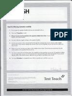 Test Teach English SET 4